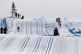 Birkenbeinerrennet som skulle avgjort 21 mars ställs in på grund av coronaviruset. FOTO: Visma Ski Classics/Magnus Östh.