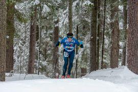 Markus Lundholm på väg mot EM-brons. FOTO: Timo Mikkola.