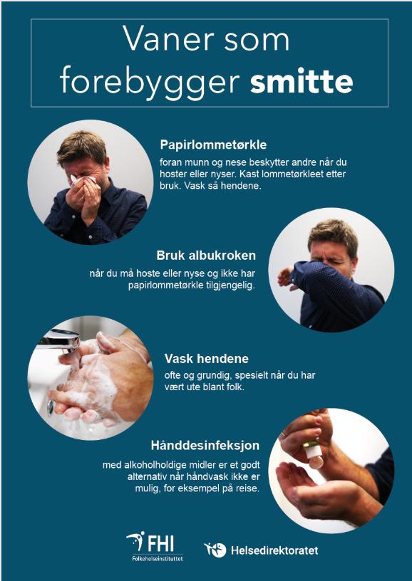 Bilde hygiene smitte