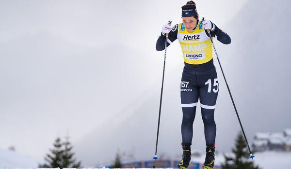 Britta Johansson Norgren har bestämt sig för en säsong till i Visma Ski Classics. FOTO: Visma Ski Classics/Magnus Östh.