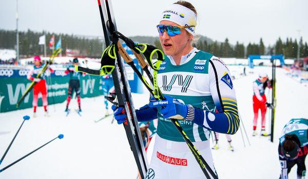 Linn Sömskar blev bäst av de svenska åkarna i Skandinaviska cupen som tvåa. FOTO: Bildbyrån/Vegard Wivestad Grött.