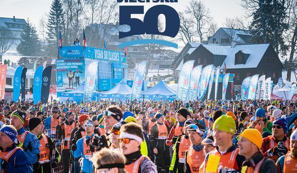 50-årsjubilerande Jizerska Padesatka har röstats fram till vinterns bästa event i Visma Ski Classics. FOTO: Visma Ski Classics/Magnus Östh.