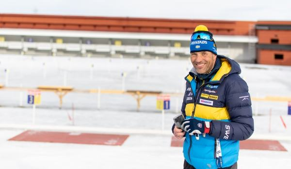 Jean-Marc Chabloz blir ny skyttetränare för de svenska landslagsskidskyttarna. FOTO: Håkan Blidberg.