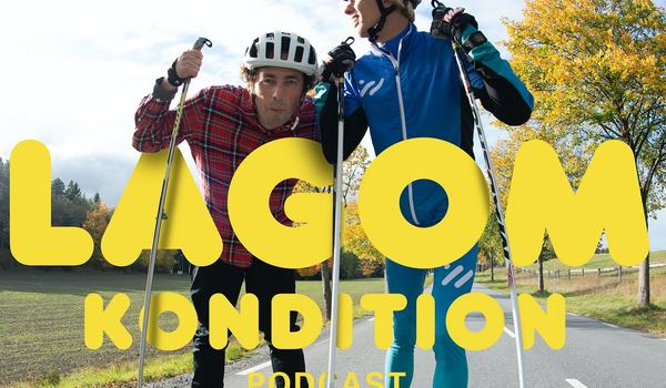 Podcasten Lagom Kondition med Niklas Bergh och Vasaloppscoachen Erik Wickström har Max Novak som gäst i senaste avsnittet. FOTO: Lagom Kondition.