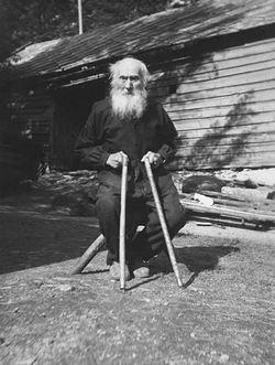 Knut Ripe, spelemann og songar 87 år,  Bjørndalssamlinga, UiB