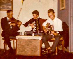 Petter Solheim, Egil Svidal og Joar Solheim