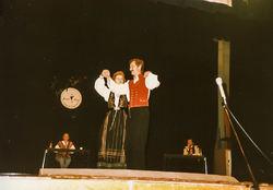 Hilde Bjørkum og Jon Aarekol på Gol 1986-2