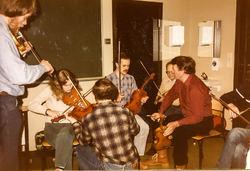 Kurs med Lars Skjervheim 1985 foto 2-2
