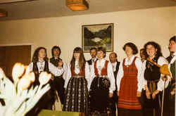 Visegruppa i Indre Sunnfjord 1985 foto 1-2