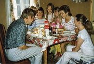 På veg til Landsfestivalen på  Heimdal 1987-2