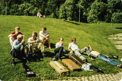 Landsfestivalen på Heimdal 1987 foto 1-2