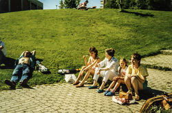 Landsfestivalen på Heimdal 1987 foto 2-2