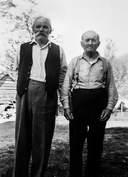 Nikolai Sandal og Andreas Egge, Bjørndalssamlinga, Universitetet i Ber-2