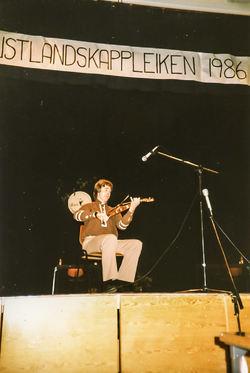 Sigmund Eikås 1986 på Gol-2