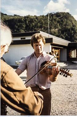 Lars og Sigmund Mo 1984-2