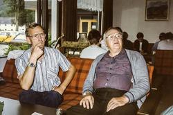 Svein Skjerdal og Lars Skjervheim på Mo 1984-2