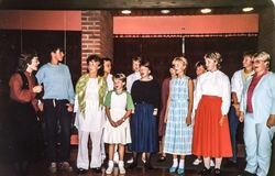 Songgruppa på Mo-kurset 1984-2