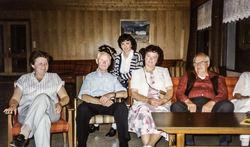 Solveig Krokeide, Bernhard Villanger, Torunn, Aud Igelkjønn og Lars Skjervheim på Mo 1984-2