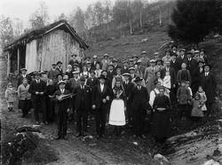 Ludvig Gjesdal sitt bryllaup