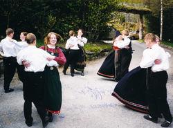 1990 Jølstraspringar, Endre Hope sin konfirmasjon-2
