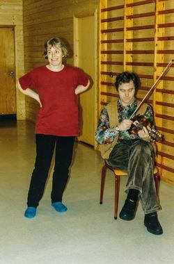 1993-96 Prosjekt dans for barn og unge
