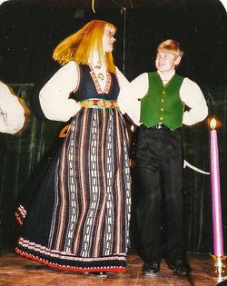 1994 25 år, Rannveig Slåtten og Svein Ove Bergseth