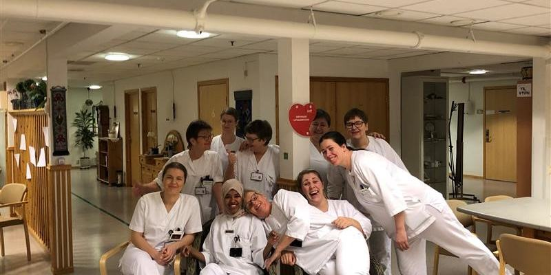 Ansatte ved Overhalla sykeheim