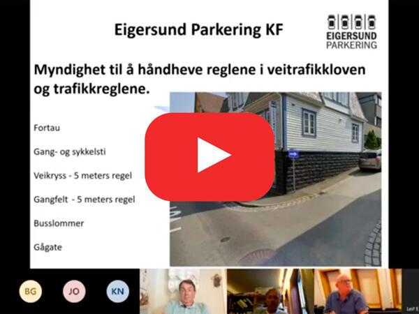 Presentasjon av Eigersund parkering