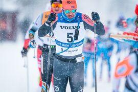 Vilket långloppsteam kommer erbjuda Tord Asle Gjerdalen en plats till nästa vinter? FOTO: Visma Ski Classics/Magnus Östh.