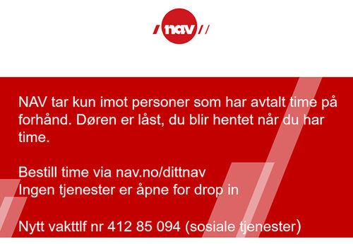 NAV - kontaktinformasjon