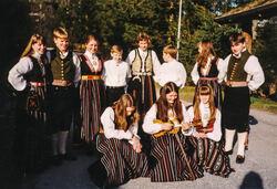 1994 Dansegruppa Kanskje før avreise til Riga-2