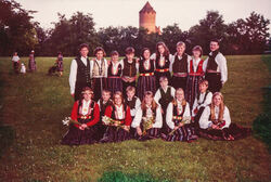1994 Dansegruppa Kanskje i Riga-2