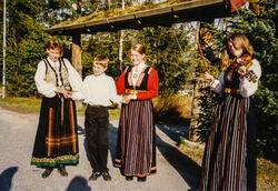 1994 Latvia, før avreise 4-2