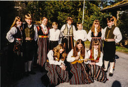 1994 Latvia, før avreise 5-2