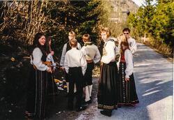 1994 Latvia, før avreise 6-2