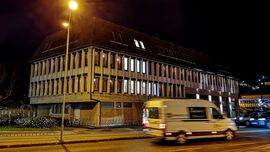 Rådhuset om kvelden