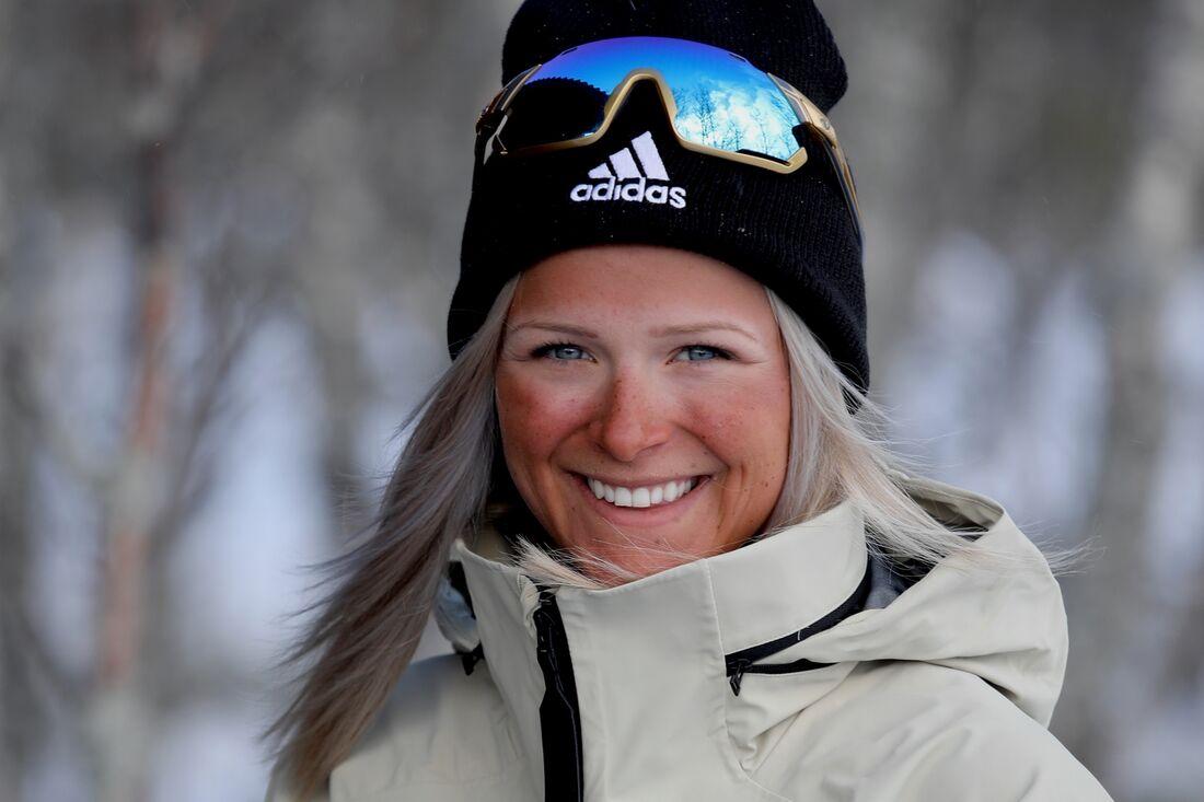 Frida Karlsson har en ny samarbetspartner i välkända sportvarumärket adidas. FOTO: adidas.