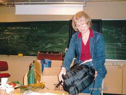 2006 Ingrid takkar av som leiar i ISS-2