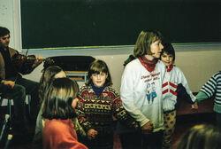 Prosjektet Dans for barn og unge 1993-96 Florø barneskule