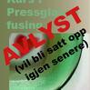 Kurs i Pressglass i fusing AVLYST bilde