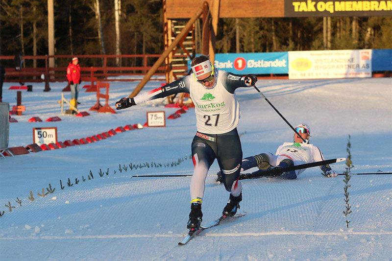 Anikken Gjerde Alnæs är Team Ragde Eiendoms senaste tillskott. Den 26-åriga norskan har fina sprintmeriter men har nu valt att satsa på långlopp i bröderna Auklands team. FOTO: Norges Skidförbund.
