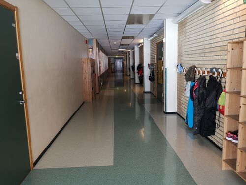 Skolekorridor