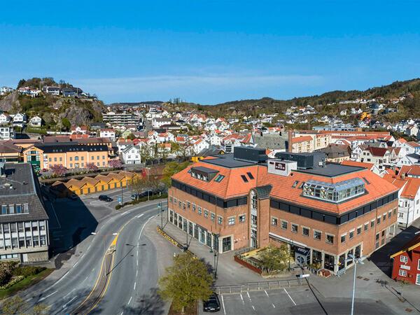 Kommunale bygg i sentrum