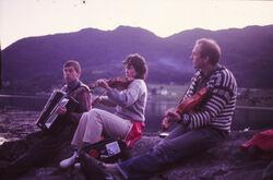 Jonsokafta på Gryta midt på 80-talet 1