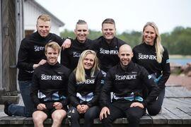 Det blir ingen fortsättning för Team Serneke i långloppscirkusen Visma Ski Classics. FOTO: Team Serneke.