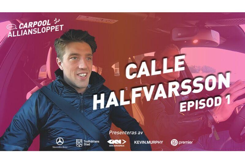 Calle Halfvarsson gästar Carpool Alliansloppet som har premiär idag. FOTO: Alliansloppet Action Week.