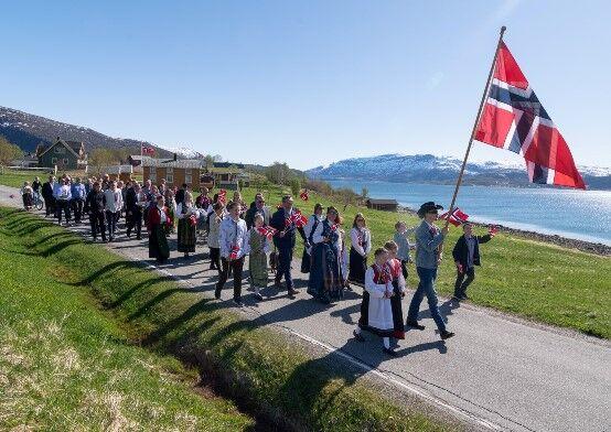 17 mai på Strøksnes 2019