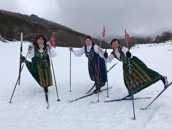 17 mai-feiring på ski