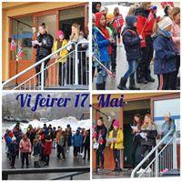 17 mai-collage Straumen skole 2020