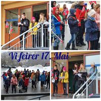 17 mai-collage Straumen skole 2020